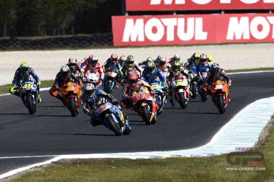 MotoGP: Tutti i piloti di MotoGP, Moto2 e Moto3 nel 2018