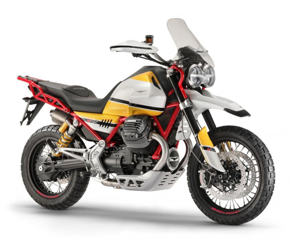 News Prodotto: EICMA 2017, Moto Guzzi svela la V85 Concept: l'erede della Stelvio