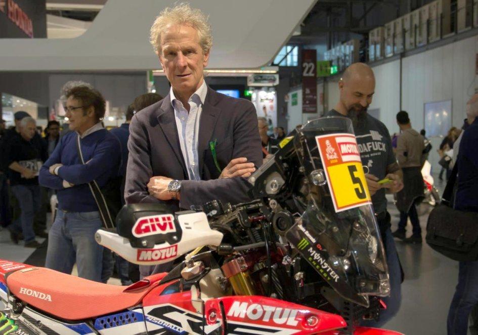 Dakar: Martino Bianchi: I'd like to race a Dakar with Marquez