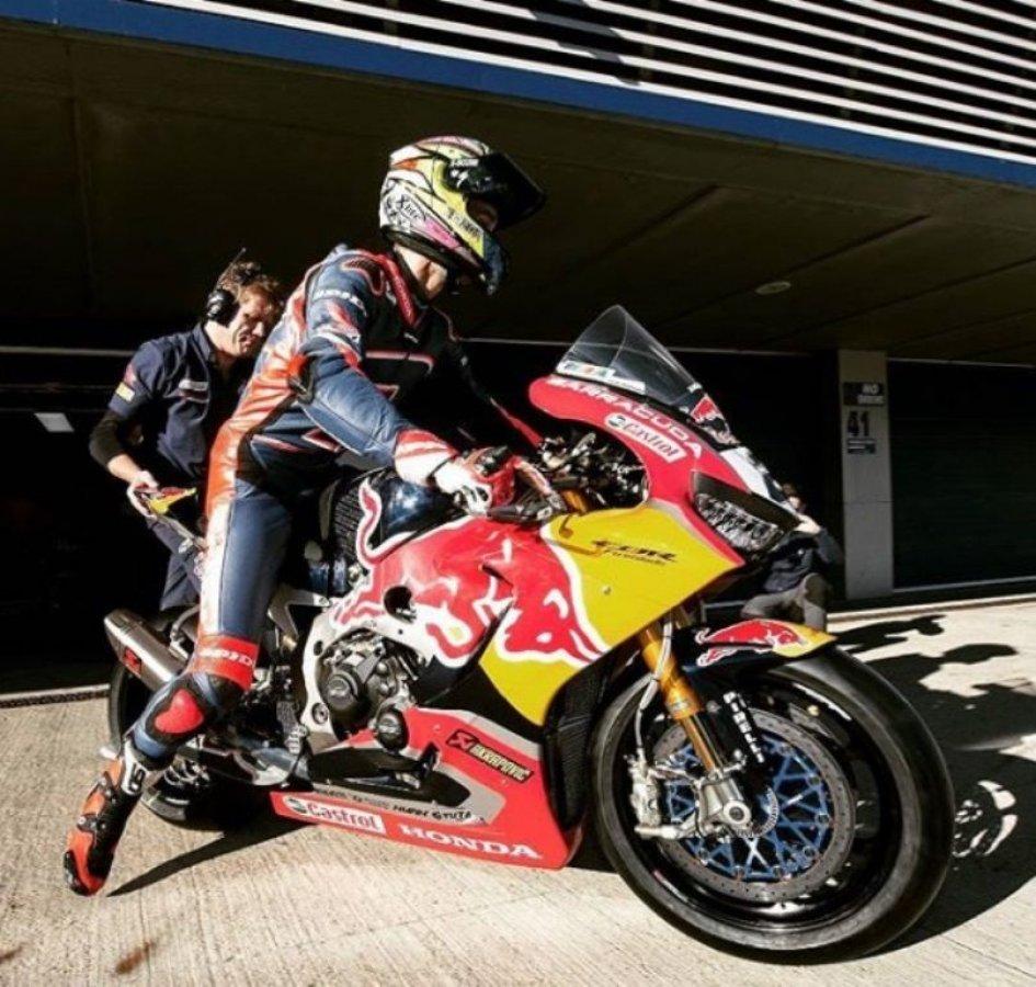 SBK: Camier-Honda: primo contatto a Jerez