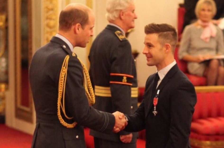 SBK: Lord Rea at Buckingham Palace
