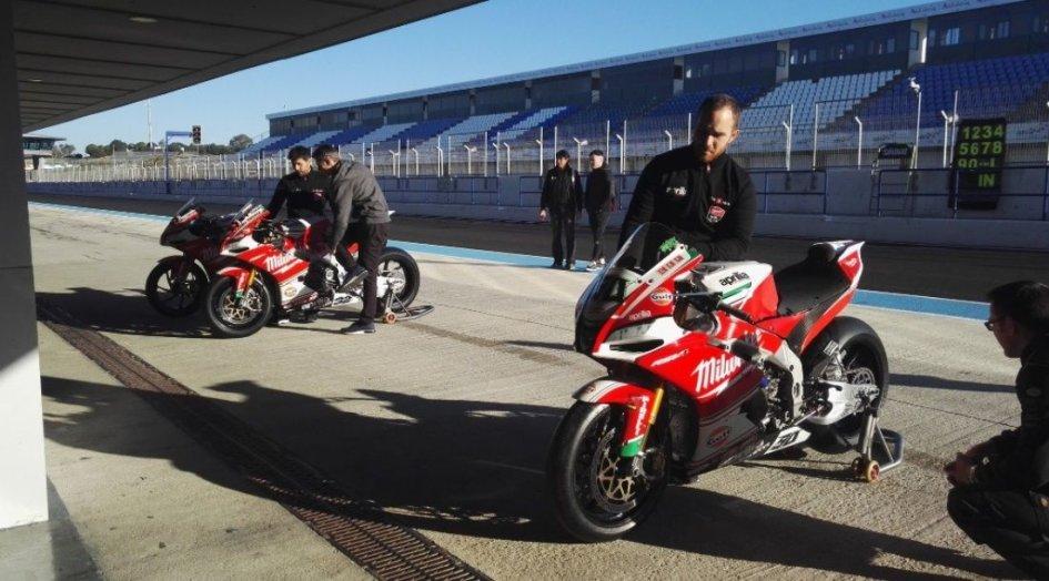 SBK: Kawasaki, BMW, MV and Aprilia open 2018 at Jerez