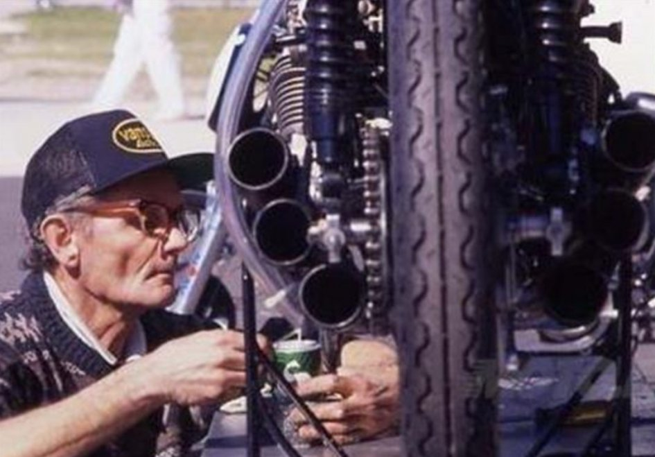 News: Farewell Nobby Clark, king of mechanics
