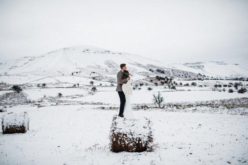 SBK: Matrimonio sulla neve per Chaz Davies e Hattie Hughes