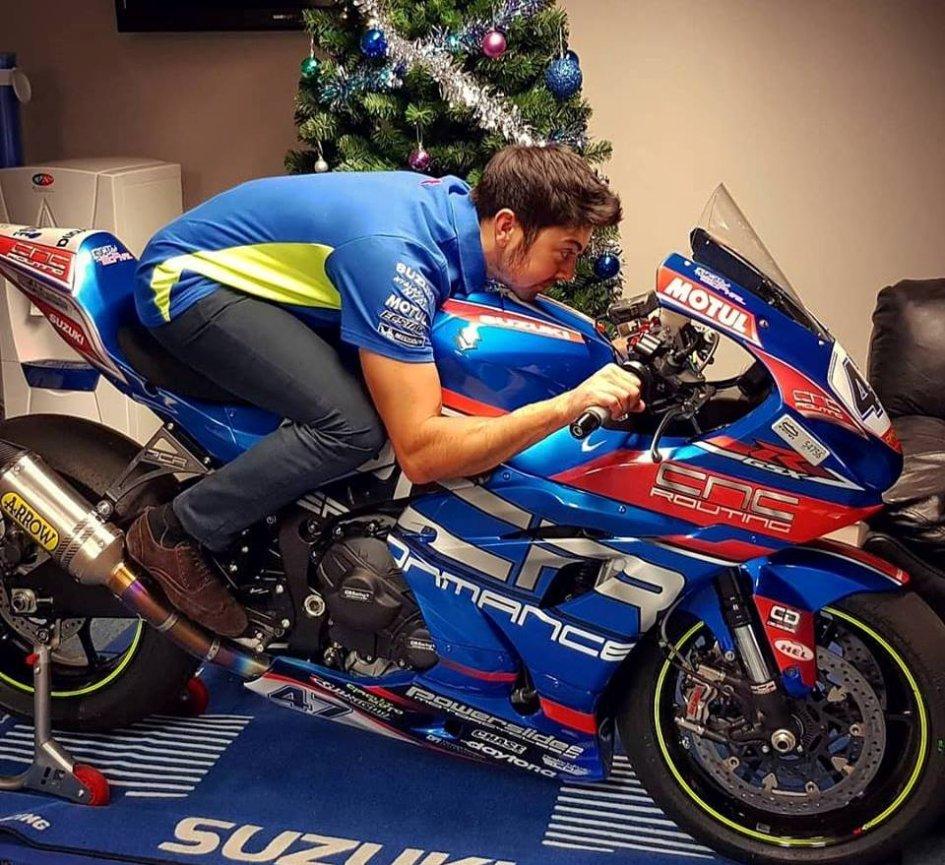 SBK: Gino Rea riparte dal BSB con la Suzuki
