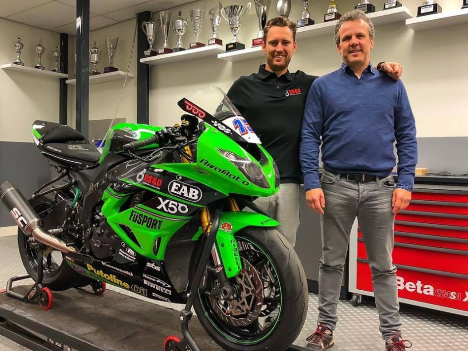 SBK: Anthony West: pilota e manager nel 2018