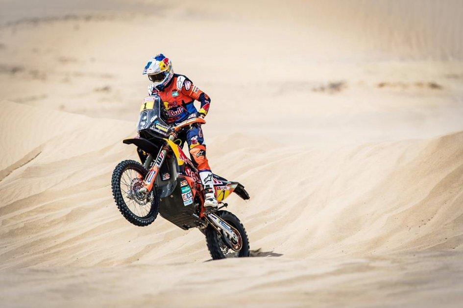 Dakar: Sunderland regains the lead, Barreda's Honda sinks