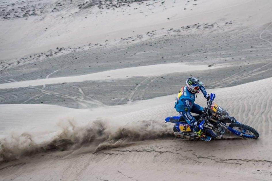 Dakar: First Yamaha high note with Van Beveren, Botturi 20th