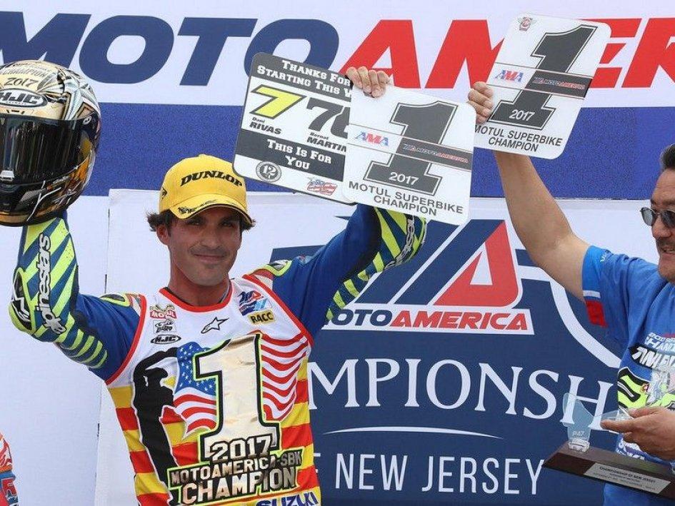 MotoGP: Test premio sulla Suzuki MotoGP per Elias, Dunlop e Waters