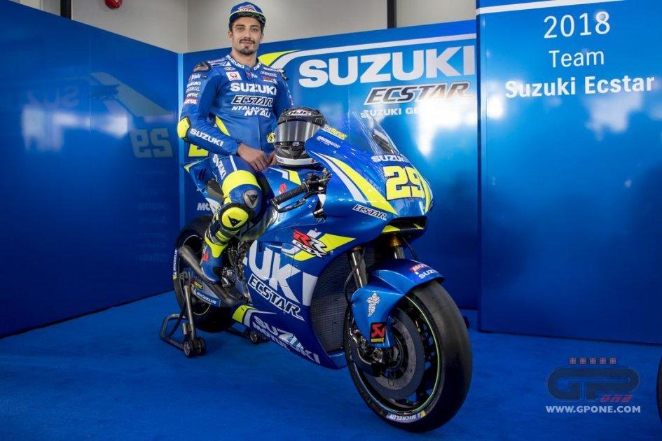 MotoGp: presentata la nuova Suzuki