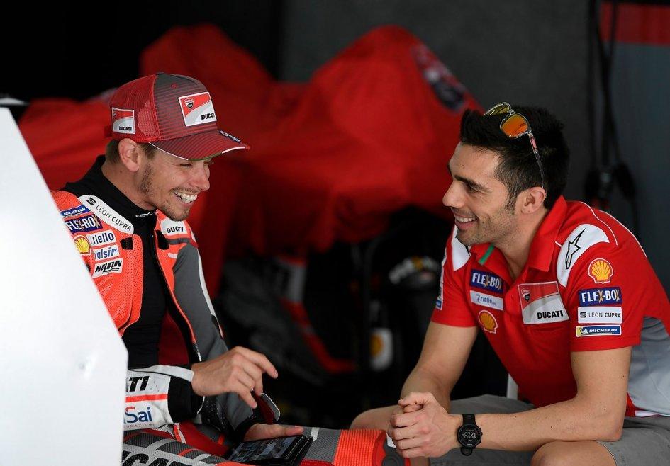 MotoGP: TEST. Stoner in panchina, sorprende KTM