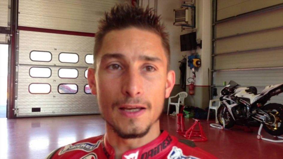 SBK: Manuel Poggiali alla 24 Ore di Le Mans