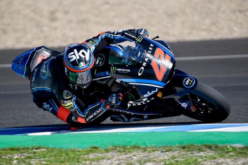 Moto2: Test Jerez: Bagnaia mette nel mirino Alex Marquez