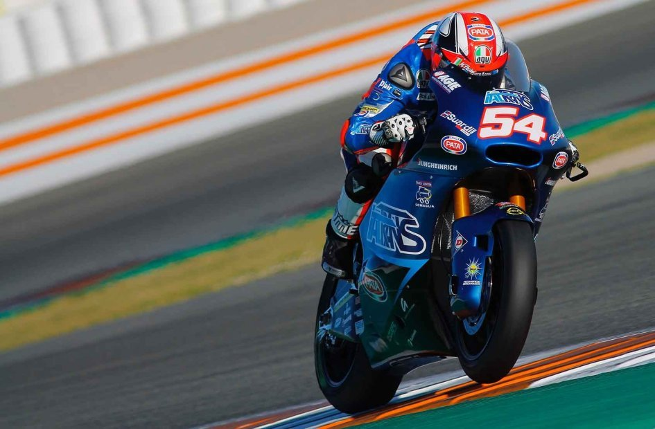 Moto2: Valencia test: Italy on top, Pasini ahead of Baldassarri