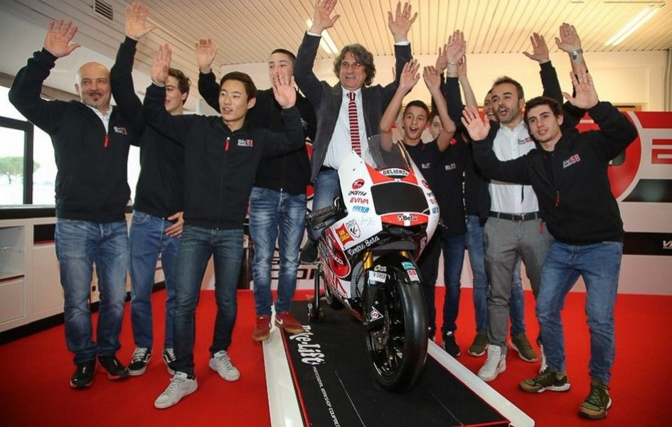 Moto3: The Sic58 team aims high with Antonelli and Suzuki