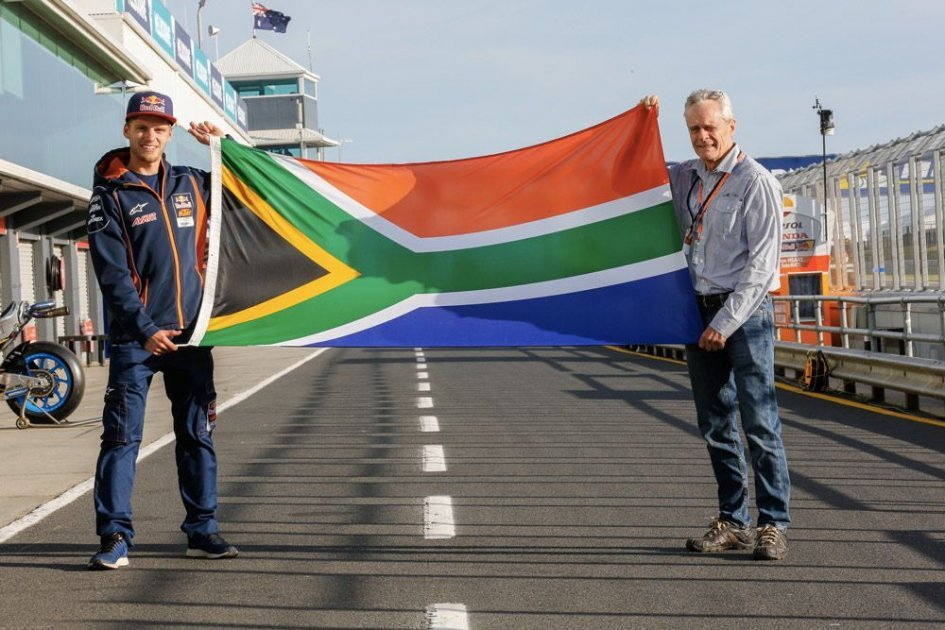 MotoGP: Ballington puts South Africa on the map of legends