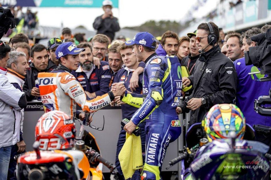 Buriram MotoGP, Marquez-Honda scatenati. La Ducati regge, Rossi dietro