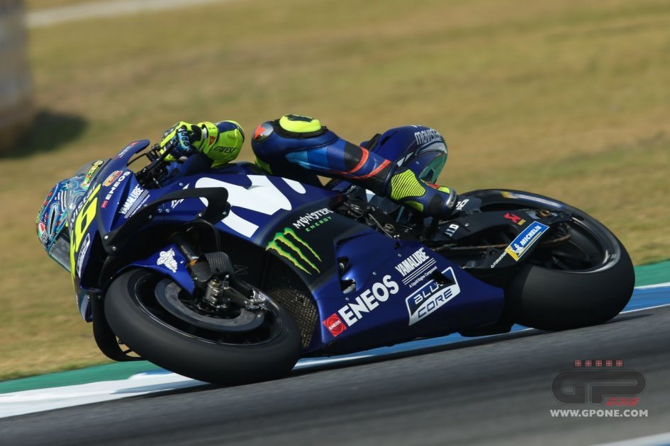 """MotoGP: Rossi: """"With the Yamaha it's like playing cards"""""""
