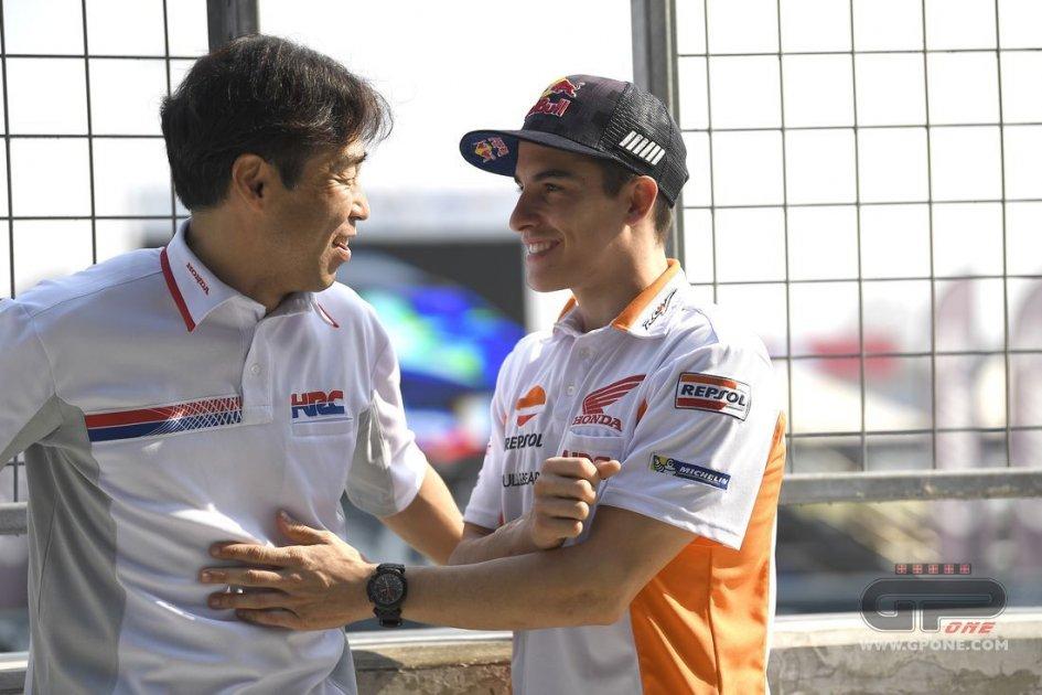 MotoGP: Marc Marquez rinnova con la Honda fino al 2020