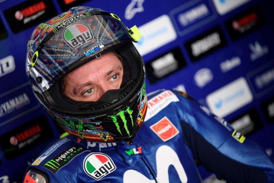 """MotoGP: Rossi: """"Correre con la pioggia in Qatar? Io sono pronto"""""""