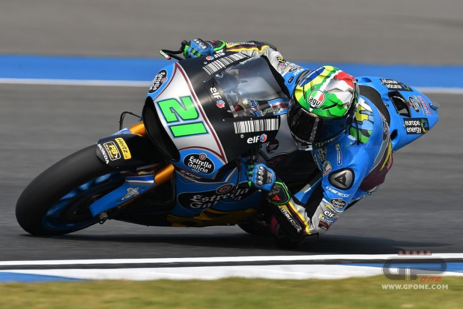 MotoGP: Morbidelli: finalmente sono caduto... spingendo