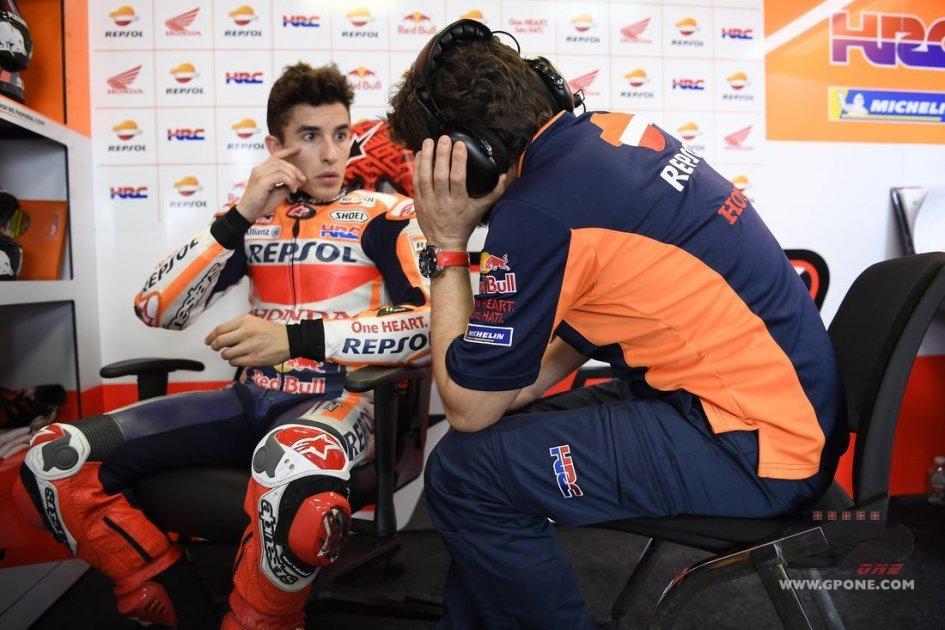 MotoGp, test Buriram: Marquez è il più veloce. Rossi 14esimo