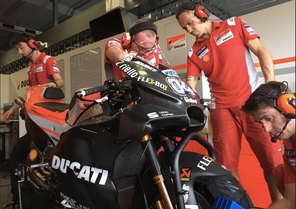 MotoGP: The new fairing: Ducati hones their wings