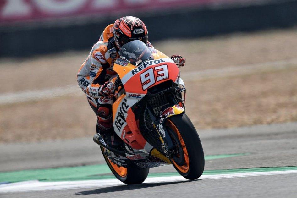 MotoGP: Marquez: sono partito bene... ma anche Dovizioso