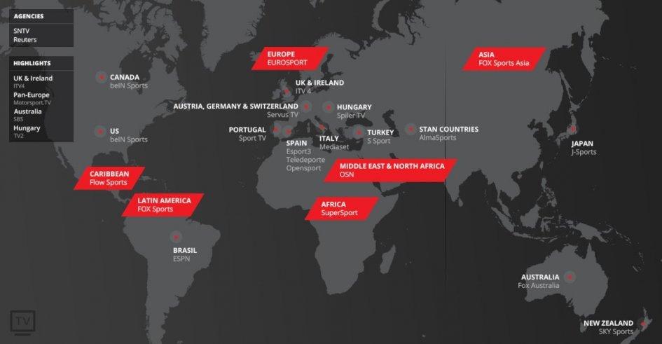 SBK: Copertura globale per il Mondiale 2018