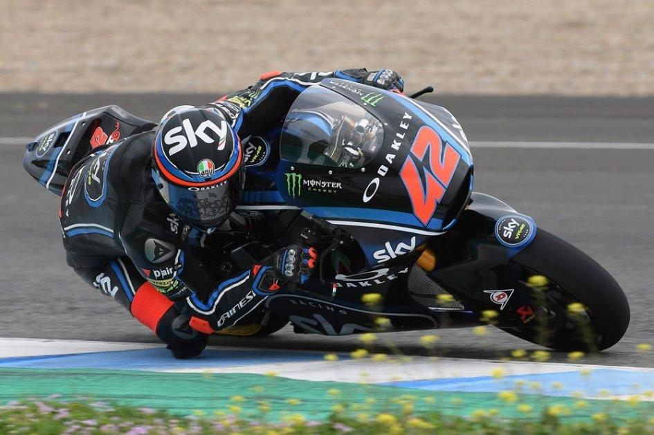 Moto2: Test Jerez: brilla Bagnaia, ma la sorpresa è Fenati, 3°