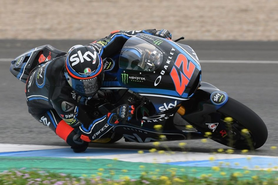 Moto2: Jerez tests: Bagnaia shines, but the surprise is Fenati, 3rd