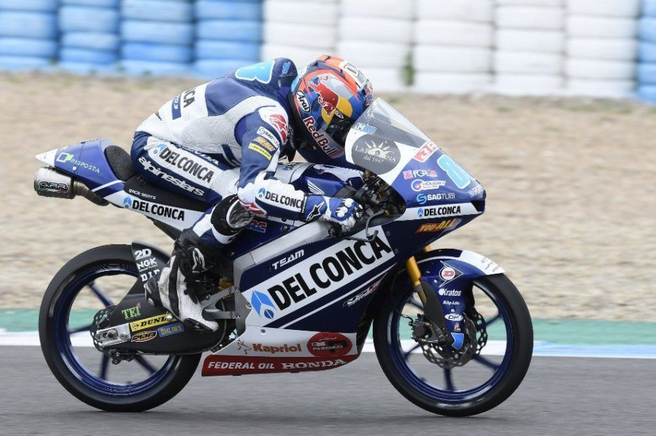 Moto3: Super Martin in the Jerez tests, Bastianini 2nd ahead of Canet