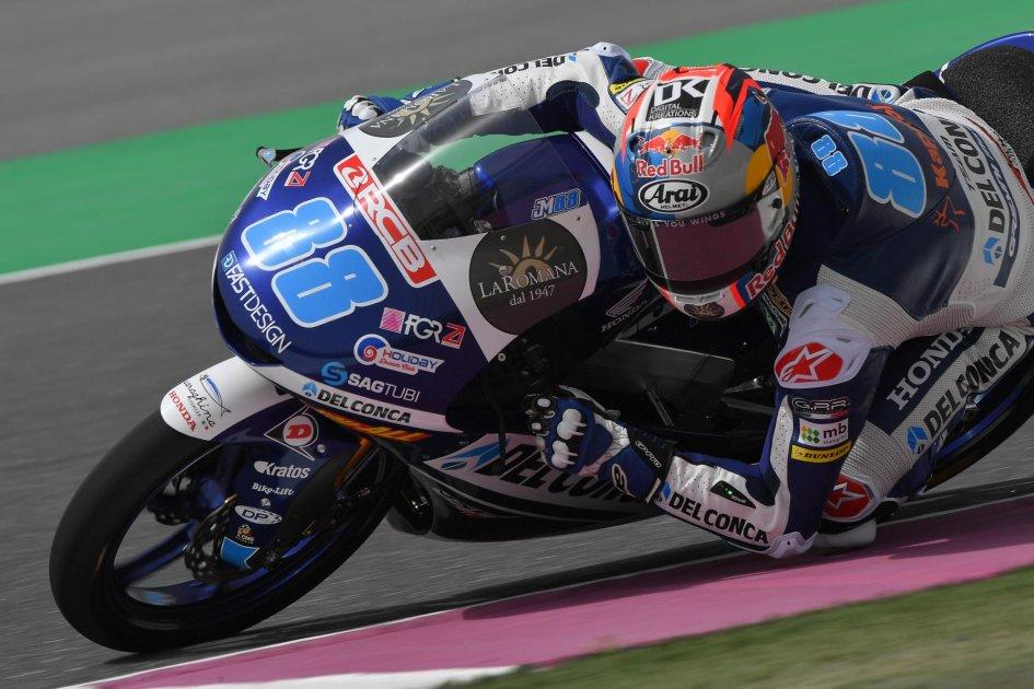 Moto3: Triumph for Martin in Qatar, Dalla Porta 3rd