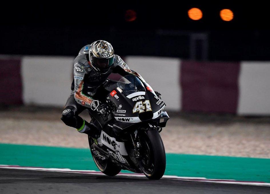 MotoGP: A. Espargarò: Aprilia in difficoltà? I test ingannano
