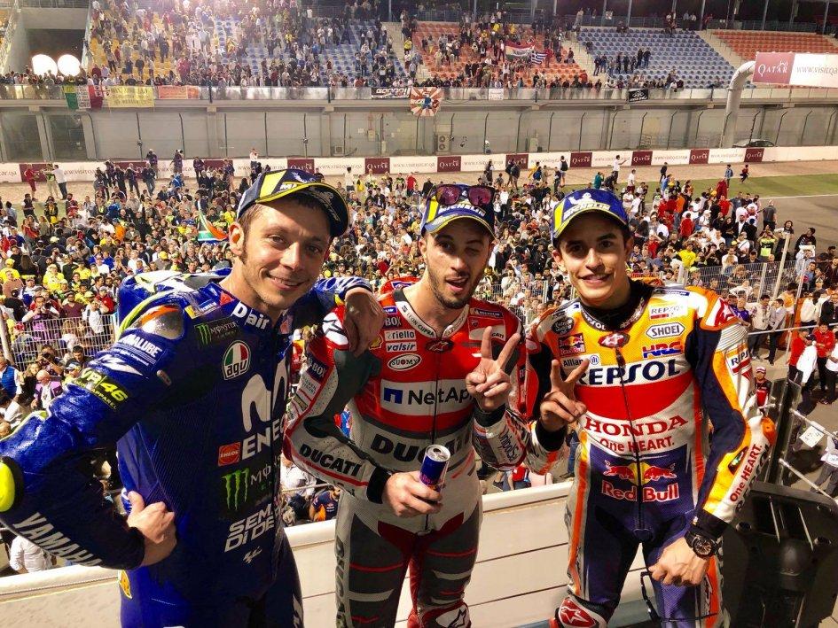 """MotoGP: Dovizioso: """"Marquez? Non credevo ci provasse pure oggi"""""""