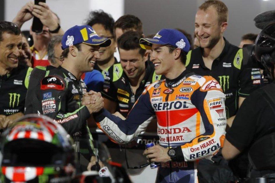"""MotoGP: Marquez: """"Dovizioso è il più veloce sul passo gara"""""""