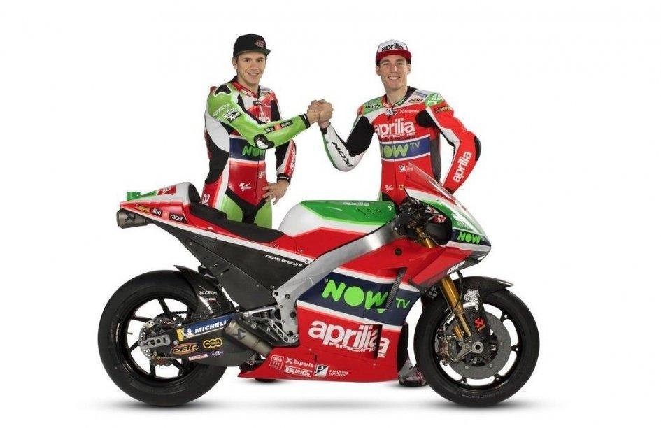 """MotoGP: Aprilia si presenta, Colaninno: """"Il nostro futuro è magico"""""""