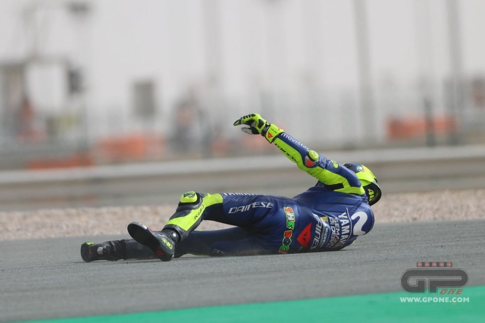 MotoGP: PHOTO. The Valentino Rossi's crash in FP3