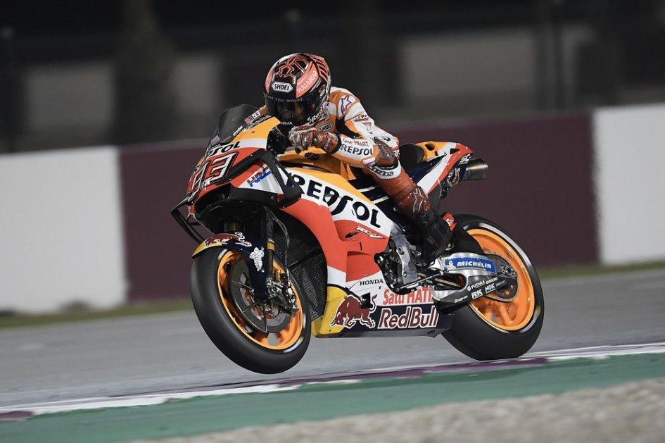 MotoGP: Marquez: più veloce sul ritmo, meno nel giro secco
