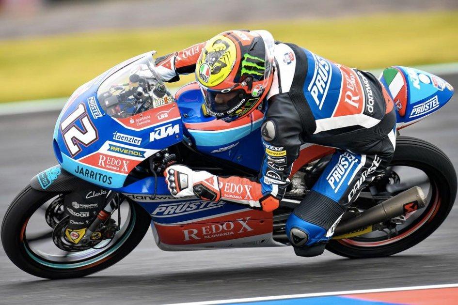 Moto3: Bezzecchi brilliant in Argentina, Di Giannantonio 3rd