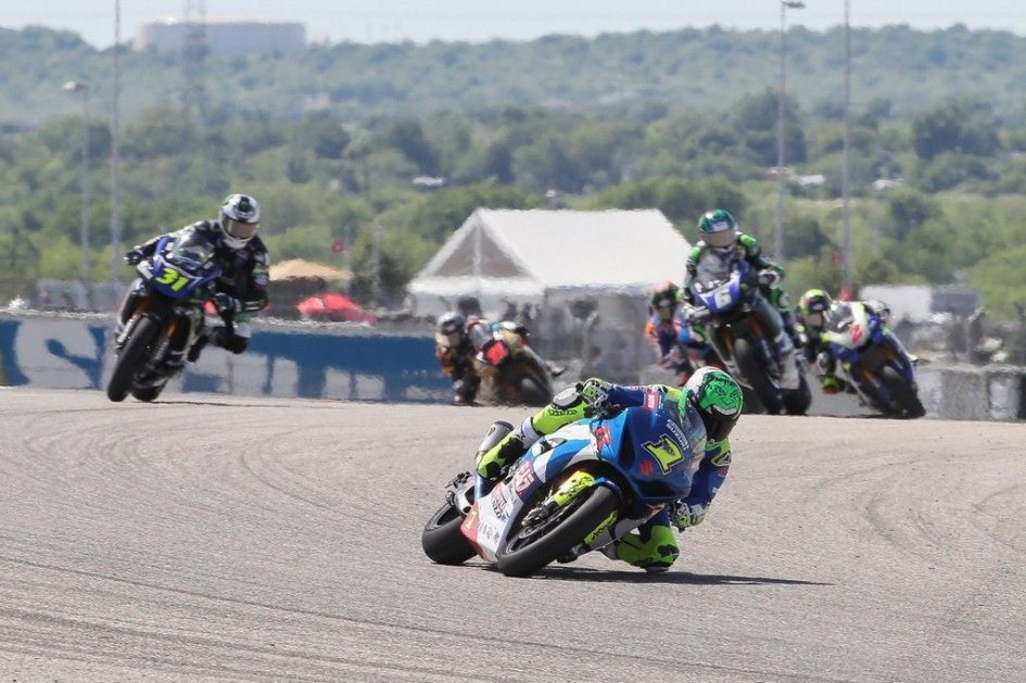 MotoAmerica: The sun shines once more for Elias who wins in Austin