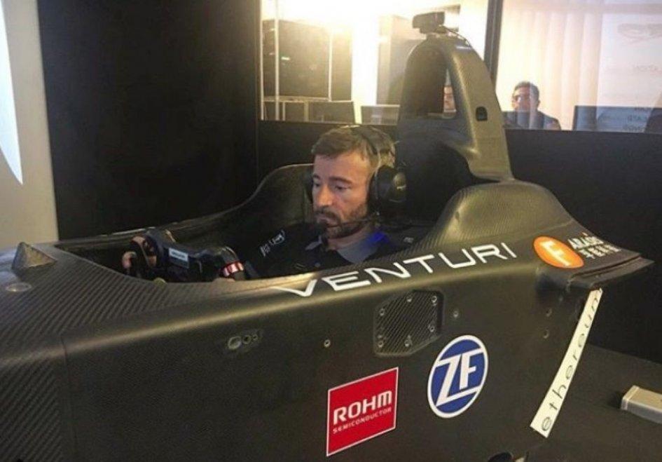MotoE: Formula E: Max Biaggi to open the track at Rome