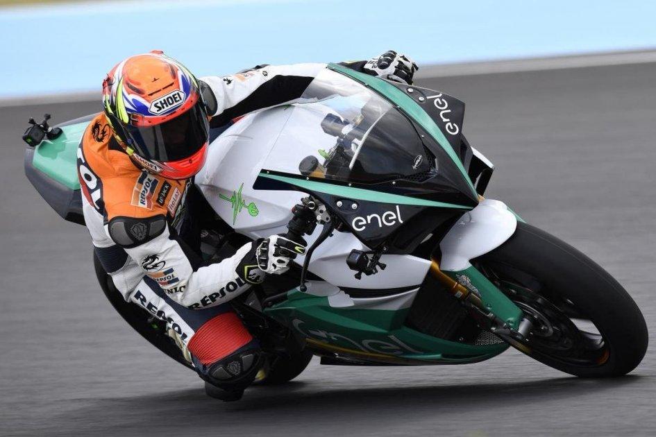 MotoGP: Porto tested Energica: The MotoE bike? It rides like a 2-stroke