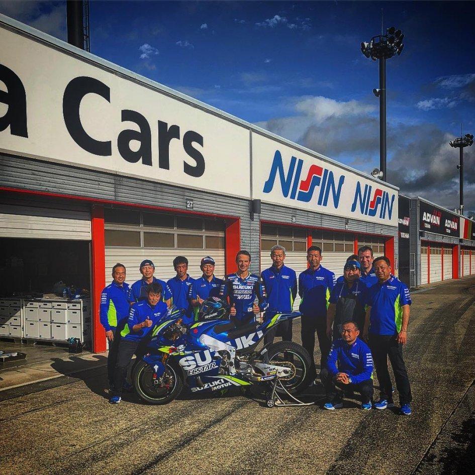MotoGP: Due giorni di test a Motegi per Guintoli sulla Suzuki