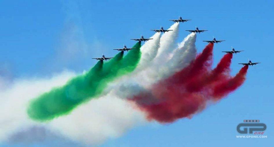 MotoGP: Le Frecce Tricolori al Gran Premio del Mugello