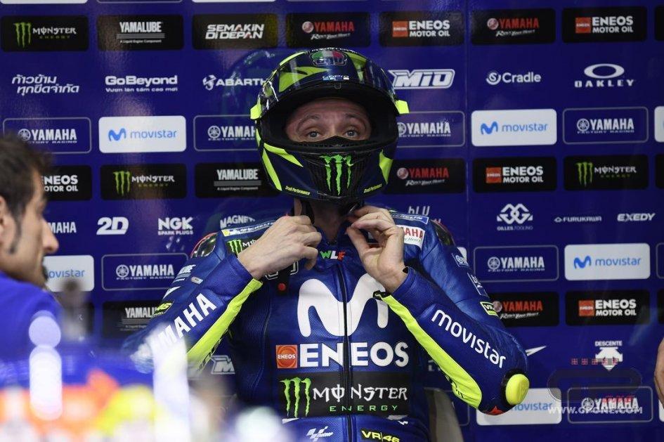 MotoGP: Rossi: sono preoccupato per le gomme