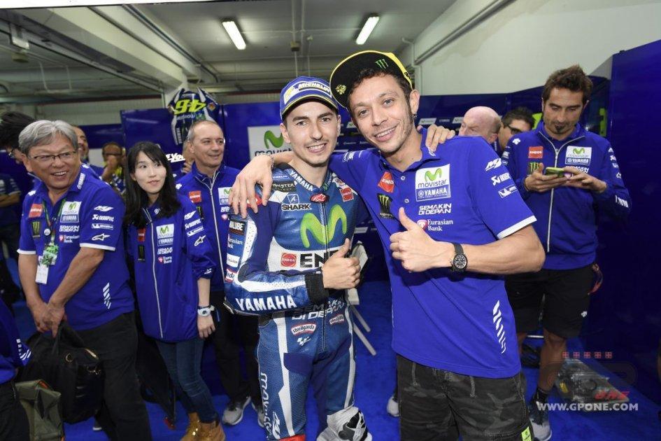 MotoGP: Lorenzo: Rossi mi copiava assetti e allenamenti