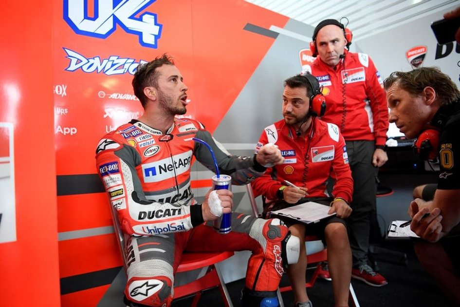 "MotoGP: Dovizioso: ""Marquez will have a hard time getting out of the paddock"""