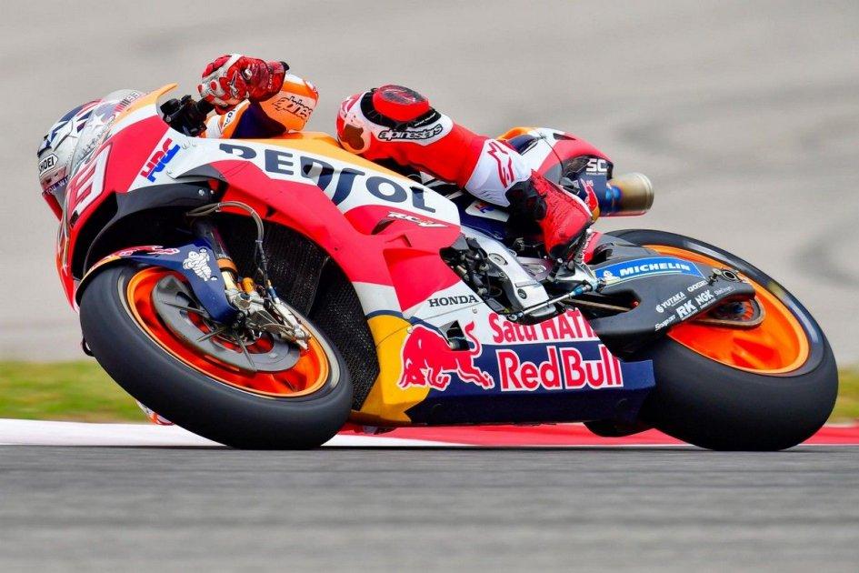 MotoGP: QP: Pole con caduta per Marquez ad Austin