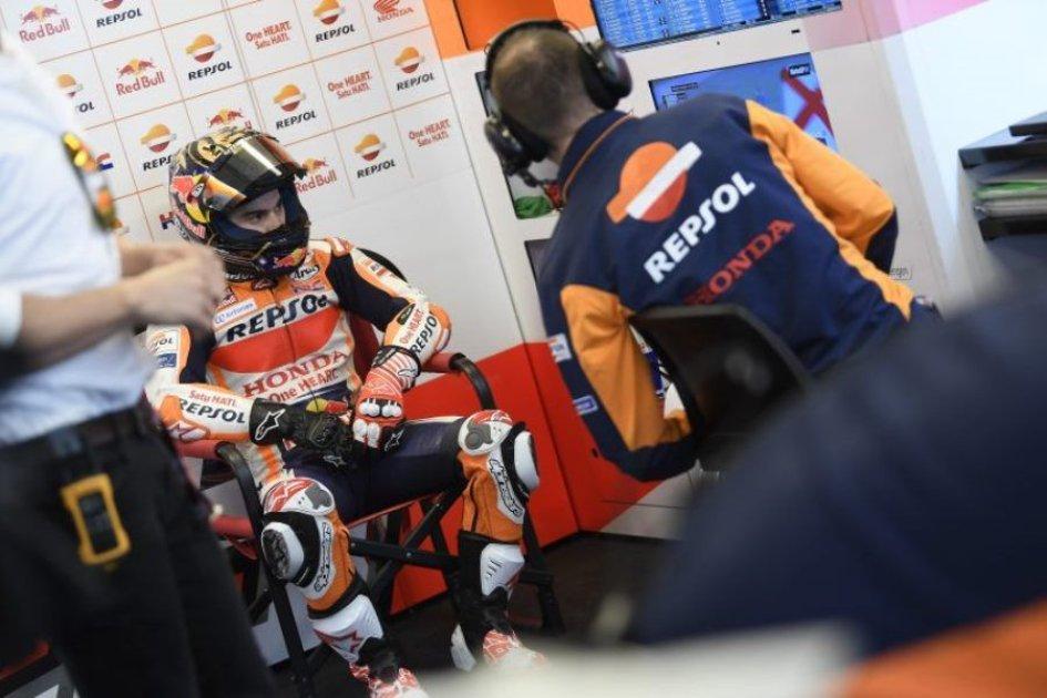 MotoGP: Pedrosa: il settimo posto è un risultato inaspettato